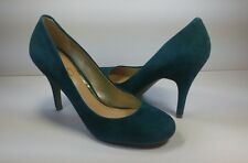Jessica Simpson OSCAR Jewel Green Pumps - Size 8.5B