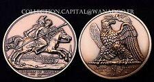 """Médaille Napoléon Bataille de Lutzen """"Collection Impériale"""" Bronze MDP"""