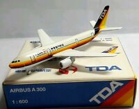 SCHABAK 1:600 SCALE DIECAST TDA AIRBUS A300 - 903/74