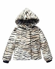 JUICY COUTURE FAUX FUR ZIGER JACKET ORG. $198.00 SIZE 2-3 BNWT