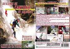 DVD Descente de canyons et sécurité : Découverte & initiation  - Escalade alpin
