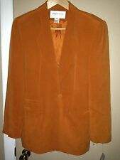 JONES NEW YORK SUIT ORANGE LADY'S JACKET NEW SIZE 6