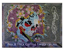 Ed Hardy Beautiful Ghost Crystal Rhineston Netbook Case