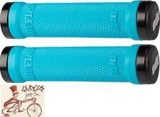 ODI RUFFIAN LOCK-ON AQUA BMX-MTB BICYCLE GRIPS