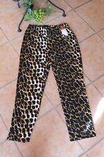 MAGNA Leggings Hose 56 58 NEU Leo Optik Animal Print braun Stretch LAGENLOOK