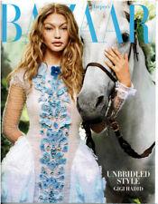 Harper's Bazaar Magazine October 2016 GIGI Hadid Unbridled Style Couture