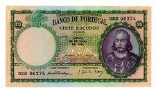 Portugal ... P-153a ... 20 Escudos ... 1954 ... CH*XF*