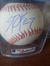 sean reid foley signed baseball autographed romlb ball auto blue jays mlb minors