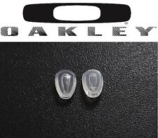 2x Oakley Replacement Prizm Carbon Blade Deviation Chainring Sunglasses Nose Pad