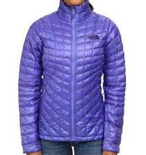 THE NORTH FACE WOMENS THERMOBALL JACKET INSULATED FULL ZIP PURPLE SIZE S NEW