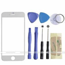 """Front Screen Glass Lens Replacement Repair Kit for iphone 6/6s 4.7"""" Tools White"""