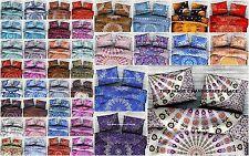 100 PC Wholesale Lot Indian Mandala Pillow Sham Cotton Cushion Cover Pillow Case