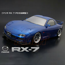 ABC Hobby 1:10 Mazda RX-7 FD3S Latter Term Type Clear Body RC Cars Drift #66159