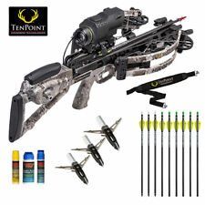 TenPoint Havoc RS440 XERO Crossbow HUNTER Package w/ Lighted Arrows and More!
