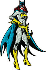58030 Batgirl Standing Superhero Comic Book Embroidere Sew Iron On Patch / Badge