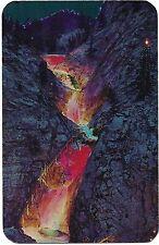 SEVEN FALLS ILLUMINATED NIGHT Lights Cheynne Canon COLORADO SPRINGS Postcard CO