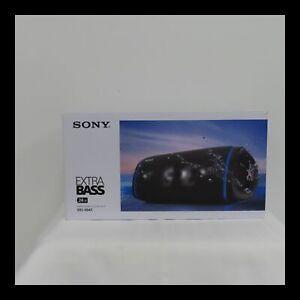 Sony XB43 Portable Bluetooth Speaker - Black open box