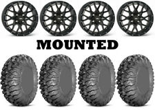 Kit 4 Efx MotoClaw Tires 29x10-16 on Itp Hurricane Matte Black Wheels Ter(Fits: More than one vehicle)