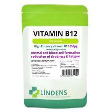Vitamina B-12 250mcg 360 Tabletas