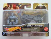 Hot Wheels Batman & Batmobile/Superman & Metropolis PD -  Batman v Superman
