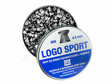 H&N Logo Sport Pellets cal.177 4.5 mm 500 pcs. 0.53 g Air gun pellets Diabolo