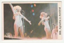 1970s Swedish Pop Star Card #806 Abba - Agnetha Fältskog and Anni-Frid Lyngstad
