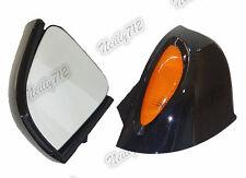 Noir Rétroviseur miroirs clignotant verres Pour BMW R850RT R1100RT R1150RT RT-P