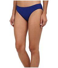 New RALPH LAUREN Laguna Solids Hipster Indigo Briefs Blue Swimwear Bottoms RP£49