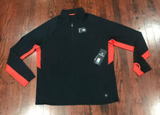 Nwt$55 Nwt$55 Nhl Mens Phi Flyers Black Half Zip Pullover '47 Size Xl