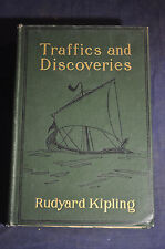 1904 *FIRST* Traffics and Discoveries by Rudyard Kipling