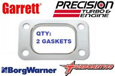 2-Pack Garrett  T3 Turbo Manifold Gasket Stainless Precision PTE Borg Warner EFR