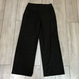Sarah Pacini Wool Blend Lagenlook Trousers Culottes Wide Leg Size 1