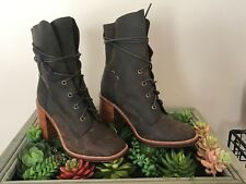 NEW Free people + Jeffrey Campbell Andover Lace Up boot size 8 MSRP: $225