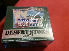 Pro Set, Desert Storm Collector Cards, Complete Factory Sealed - Educational