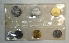 Austria 1965 Proof Set, 7 Coins, Some Toning