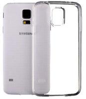 SDTEK Coque pour Samsung Galaxy S5 Silicone Case Cover TRANSPARENTE