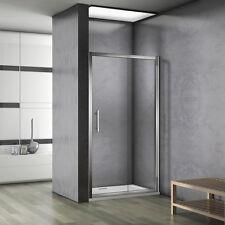 140x185cm porte de coulissante porte de douche verre  sécurité pas de receveur
