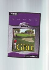 MICROSOFT GOLF 1998 EDITION - PC GAME - FAST POST - COMPLETE