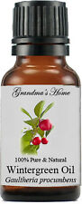 Wintergreen Essential Oil - 15 mL - 100% Pure and Natural - Free Shipping