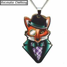 jubly umph Felix The Dapper Fox Pendant Necklace