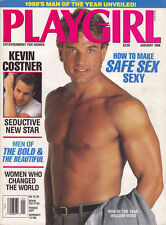 PLAYGIRL January 1988 Nicolas Cage KEVIN COSTNER Baltimore Oriels WILLIAM WOOD