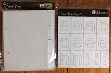 Scenic Route Chipboard Scrapbook Mini Album & Redmond Alphabet NEW