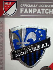 Official Embroidered MLS Soccer Montreal Impact Logo Iron or Sew On Patch