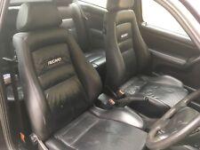 Mk3 Vw Golf VR6 Heated Black Leather Recaro 3dr Interior. JBL Speakers. D/Cards.