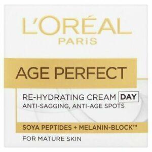 L'Oreal Paris Âge Parfait Re-Hydratant Jour Crème Pour Peau Mature 50ml