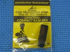 1911 - Easy Fit Officers / Compact Magazine Base Pad by CHIP MCCORMICK