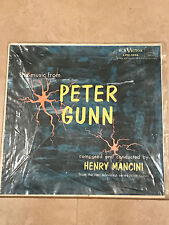Henry Mancini The Music From Peter Gunn LP RCA Victor Records LPM1956