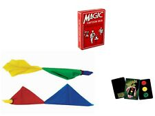 Cartoon Deck Animation w/ Prediction Card, Color Changing Hanky, Stop Light Card