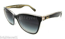 Authentic DOLCE & GABBANA Black Lip Gloss Sunglass DG 4193 F - 27378G  *NEW*
