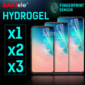 EASTele Samsung Galaxy S10 5G S9 S8 Plus Note 9 10 HYDROGEL Screen Protector